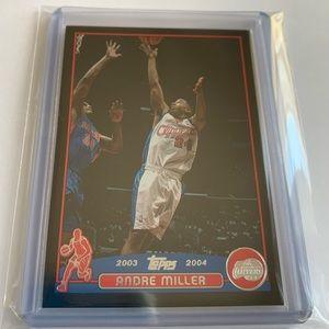 Andre Miller '03 Topps Card 035/500